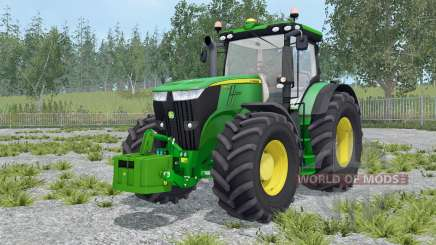 John Deere 7270R with weights for Farming Simulator 2015