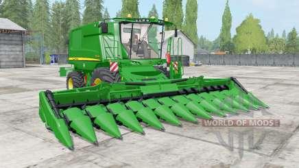 John Deere T600 dynamic hoses for Farming Simulator 2017