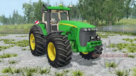 John Deere 8520 extra weightʂ for Farming Simulator 2015