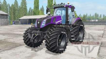 New Holland T8.420 Reᶏver for Farming Simulator 2017