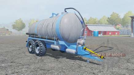 Fortschritt HTS 100.27 spanish sky blue for Farming Simulator 2013