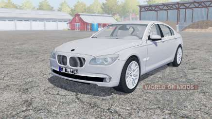BMW 750Li (F02) open doors for Farming Simulator 2013