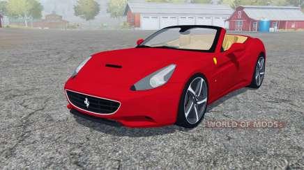Ferrari California 2010 4WD for Farming Simulator 2013