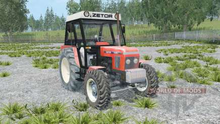 Zetor 7245 front loader for Farming Simulator 2015