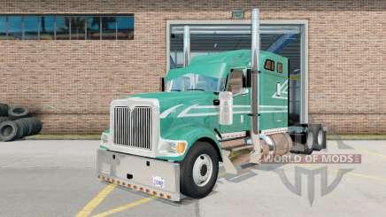 International Eagle 9900i verdigris for American Truck Simulator