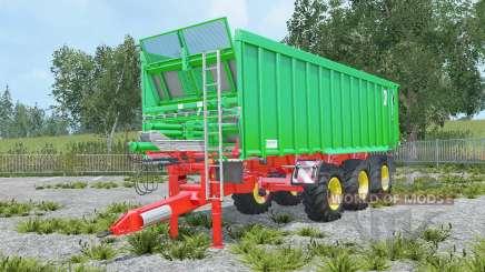 Kroger Agroliner TAW 30 with coupling trailer for Farming Simulator 2015