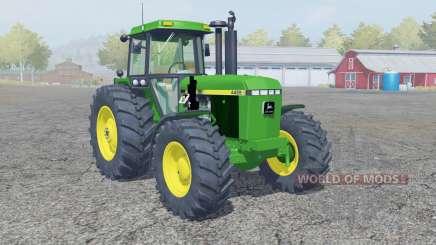 John Deere 4455 front loadeᶉ for Farming Simulator 2013