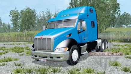 Peterbilt 387 color selection for Farming Simulator 2015
