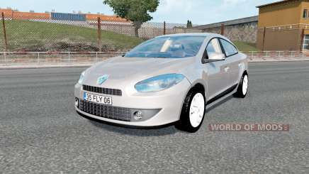 Renault Fluence 2012 v1.3 for Euro Truck Simulator 2