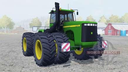 John Deere 9400 double wheels for Farming Simulator 2013