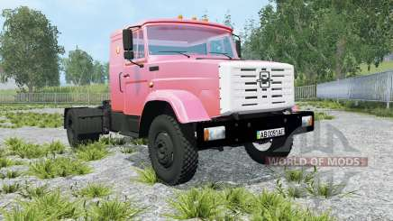 ZIL-5417 light red color for Farming Simulator 2015