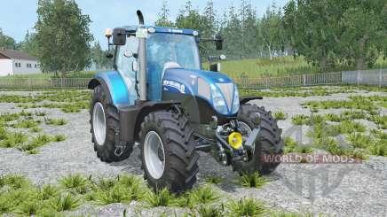 New Holland T7 Blue Power for Farming Simulator 2015