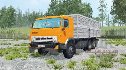 KamAZ-53212 & trailer GKB-8350 for Farming Simulator 2015