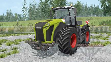 Claas Xerion 5000 Trac VC change wheels for Farming Simulator 2015