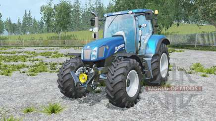 New Holland T6.175 Blue Power for Farming Simulator 2015