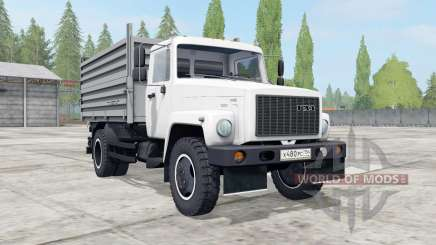 GAZ-SAZ-35071 white color for Farming Simulator 2017