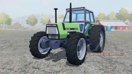 Deutz-Fahr AX 4.120 added wheels for Farming Simulator 2013
