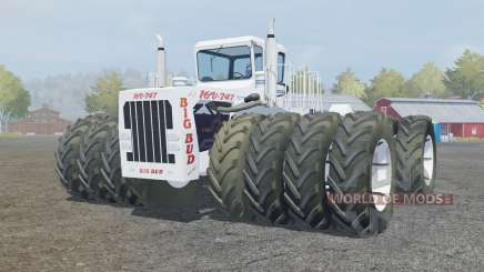 Big Bud 16V-747 extra wheels for Farming Simulator 2013