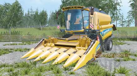 New Holland TC5.90 increased unloading rate for Farming Simulator 2015