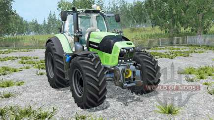 Deutz-Fahr 7-series TTV Agrotron full animated for Farming Simulator 2015