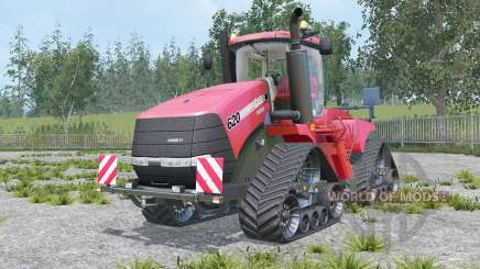 Case IH Steiger 620 Quadtrac real engine for Farming Simulator 2015