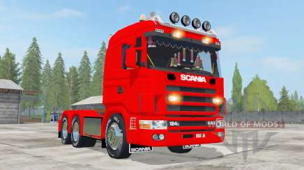 Scania R124L 440 6x4 for Farming Simulator 2017