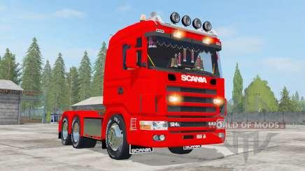 Scania R124L 440 6x4 for Farming Simulator 2017