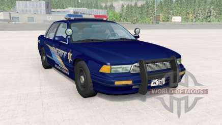 Gavril Grand Marshall Belasco Country Sheriff for BeamNG Drive