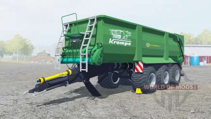 Krampe Bandit 800 shamrock green for Farming Simulator 2013