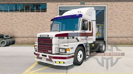 Scania for American Truck Simulator - new ATS Scania mods