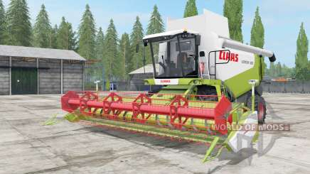 Claas Lexion 580 and 600 for Farming Simulator 2017