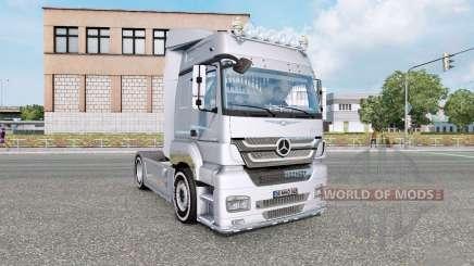 Mercedes-Benz Axor 1840 2005 v2.0 for Euro Truck Simulator 2