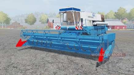 Fortschritt E 516 spanish sky blue for Farming Simulator 2013