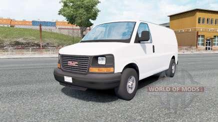 GMC Savana Van 2002 for Euro Truck Simulator 2