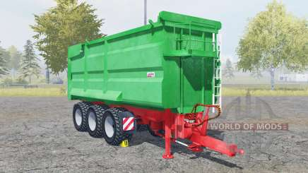 Kroger Agroliner MUK 402 munsell green for Farming Simulator 2013