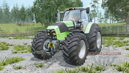 Deutz-Fahr 7250 TTV Agrotron chiptuning for Farming Simulator 2015