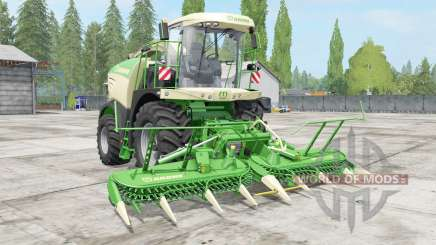 Krone BiG X choice color for Farming Simulator 2017