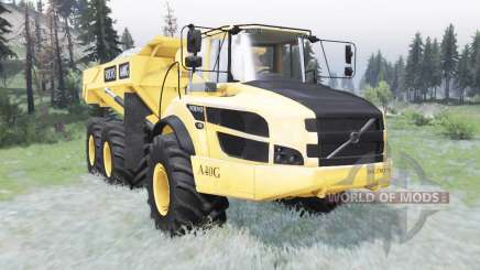 Volvo A40G 2014 for Spin Tires