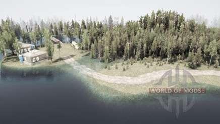 Flooded forest 3 for MudRunner