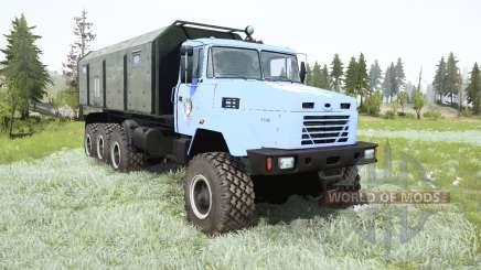 KrAZ-7140Н6 Wolf for MudRunner
