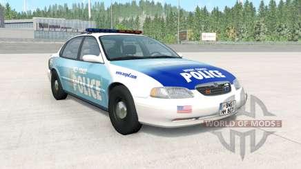 Ibishu Pessima 1996 West Coast Police v1.3.2 for BeamNG Drive