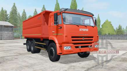 KamAZ-65115 side unloading for Farming Simulator 2017