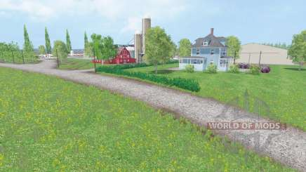 MidWest Family Farms for Farming Simulator 2015