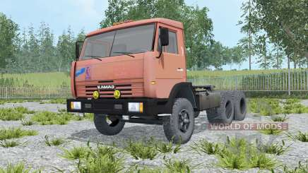 KamAZ-54115 color dark salmon for Farming Simulator 2015