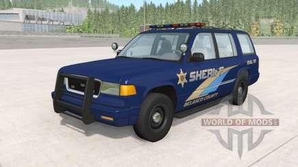 Gavril Roamer Belasco Country Sheriff v1.2 for BeamNG Drive