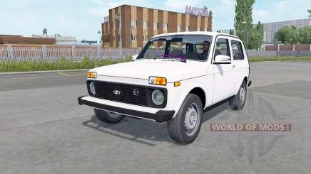 Lada 4x4 (21214) 2009 for Euro Truck Simulator 2