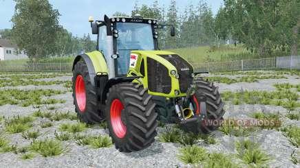 Claas Axion 950 hose attach for Farming Simulator 2015