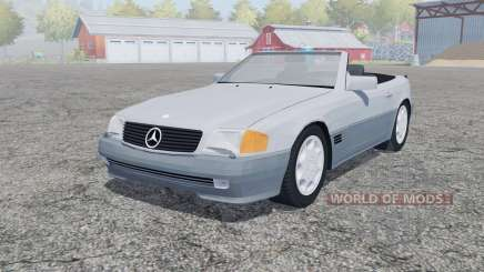 Mercedes-Benz 500 SL (R129) open doors for Farming Simulator 2013