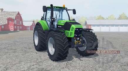 Deutz-Fahr 7250 TTV Agrotron new reifen〡felgen for Farming Simulator 2013