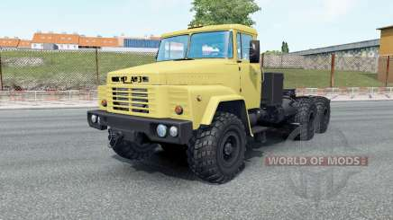 KrAZ-260V your wheels for Euro Truck Simulator 2